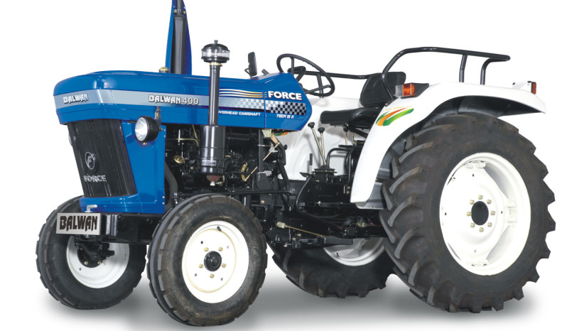 Agriculture Vehicles-Tractors Balwan 400 (Optional Power Steering) full